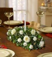 BLM All White Centerpiece
