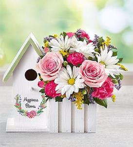 BLM Happiness Blooms Birdhouse