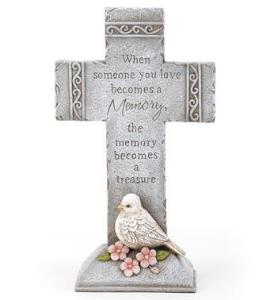 Sympathy Cross With Dove