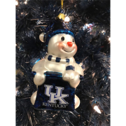 UK Snowman Ornament