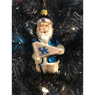 UK Santa Ornament