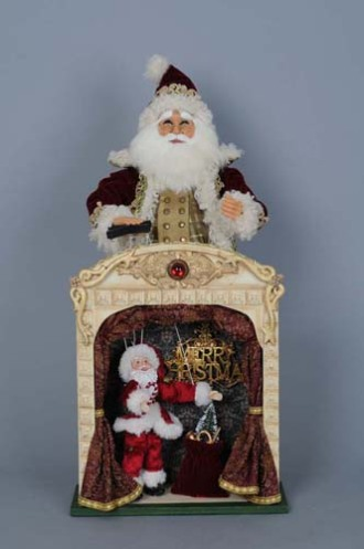 Signature Collection Limited Edition Vintage Marionette Santa