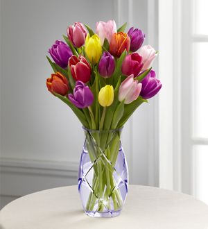 The FTD® Spring Tulip Bouquet by Better Homes and Gardens®