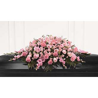 PERFECT IN PINK - Full Casket Spray