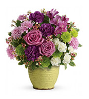 Flowers By Bauers Spring Speckle Bouquet