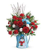 Flowers By Bauers Snowy Daydreams Bouquet
