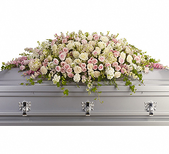 Flowers By Bauers Always Adored Casket Spray