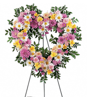Flowers By Bauers Loving Heart Tribute