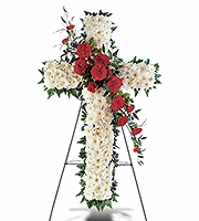 Flowers By Bauers Hope And Honor Cross