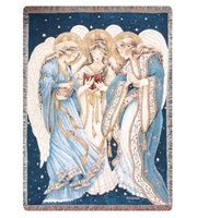 Three Angels Throw
