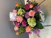 Mothers Day Floral Basket
