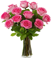 Mom, You're The Best! Pink Rose Bouquet