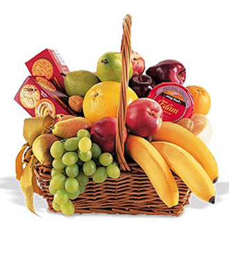 Find fruit and gourmet food packages for delivery in Grand Rapids, Michigan and nation wide with Sunnyslope Floral