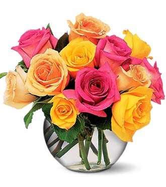 Send 12 ROSES for delivery today in a variety of colors, Sunnyslope Floral  Florist in Grand Rapids