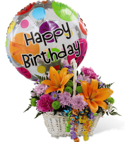 Order Birthday Flowers for delivery to the home, to work in the Grand Rapids metro area or anywhere, Sunnyslope Floral