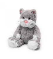 Warmies® Grey Cozy Plush Cat