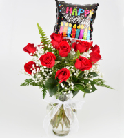 HOT DEAL 4 - Happy Birthday Roses