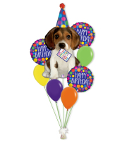Everybody Loves a Dog Birthday Bouquet