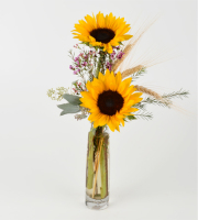 Sunflower Bud Vase