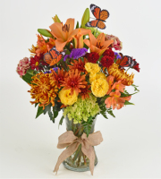 Fall Butterfly Arrangement