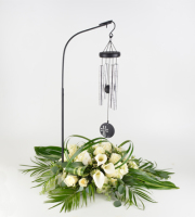 Faith Wind Chime Floral Arrangement