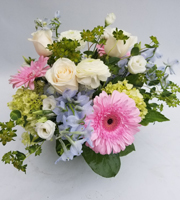 Assorment of Pastel Flowers