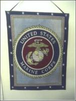Marine Corps Tapestry Bannerette