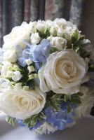 Classic Rose and Hydrangea Bridal Bouquet