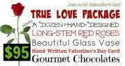 TRUE LOVE COLLECTION - RED ROSES