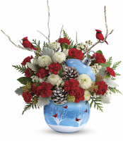 Teleflora's Send A Hug Bear BUddy Bouquet