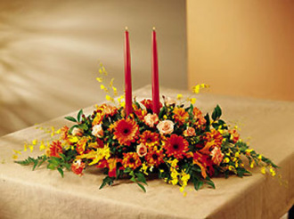 Warmth of Autumn Centerpiece
