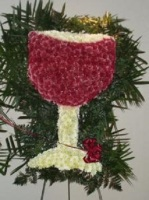 Pequa Wine Glass Arrangement