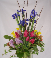 Spring Assortment Vase