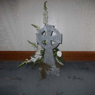 Celtic Garden Cross