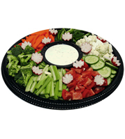 Garden Vegetable Tray - Large