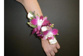 Dendrobium Orchid and Spray Rose Corsage