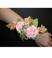 Corsage alstromeria and mini carnations