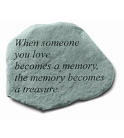 When someone you love... Stone