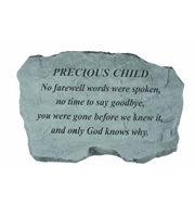 Precious Child - No farewell words... Stone