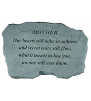 Mother - Our hearts still ache... Stone