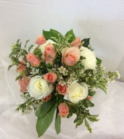 Peaches and Cream Bouquet
