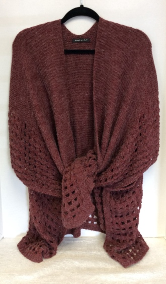 Cranberry Ladies Wrap