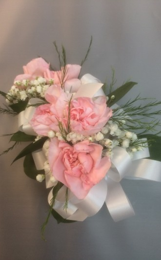 Five Mini Carnation Corsage
