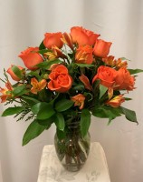 Orange Bloom Bouquet