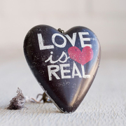 Love is Real Art Heart