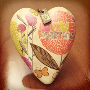 Sweet Love Art Heart