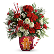 Teleflora's Send a Hug Winter Sips Bouquet