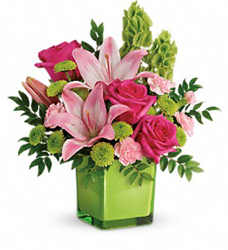 Teleflora\'s In Love With Lime Bouquet