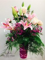 Lady in Pink by TLS Florist