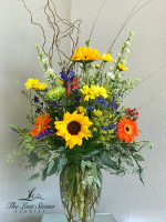 Warm Sunshine by TLS Florist